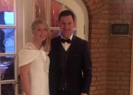 Karina und Mike just married.