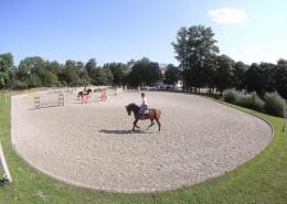 Reitplatz Leichle Training_Foto:Laf